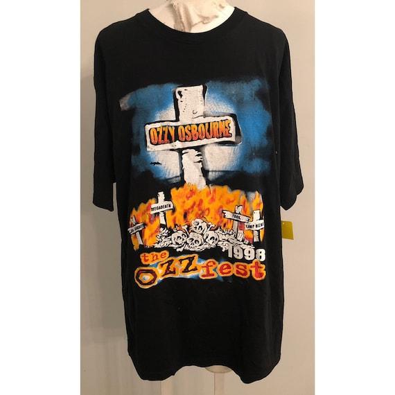 Original Vintage Ozzfest 1998 Tshirt