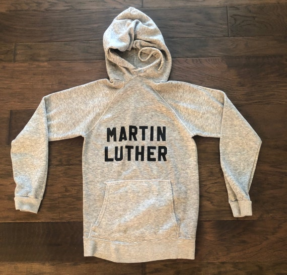 Vintage 70's Martin Luther Hoodie Sweatshirt