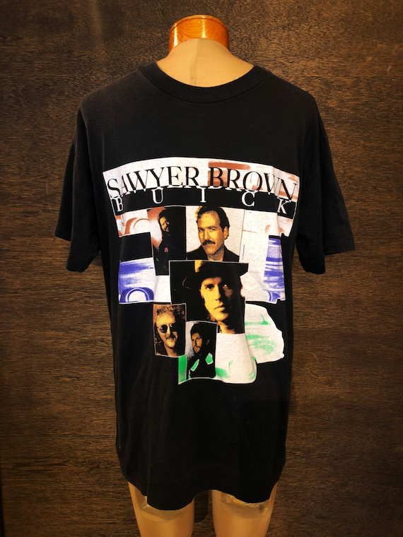 Authentic Sawyer Brown Band Tour Tshirt