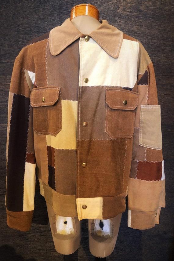1970's Vintage Patchwork Jacket