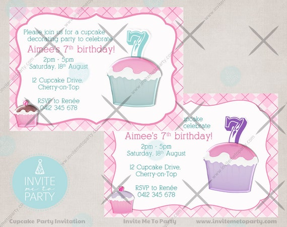 amazing cupcake party invitation or 91 cupcake party invitations printable