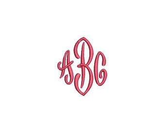 end scroll 3 letter monogram font machine embroidery monogram alphabet designs 3 size bx embroidery fonts instant download