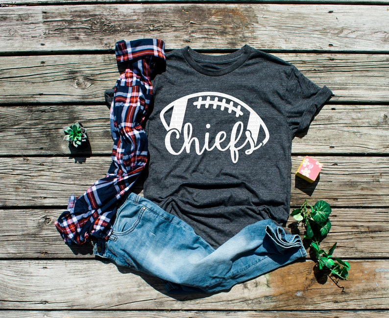 football shirt pdf Chiefs football svg files for Cricut svg file instant download SALE! png dxf eps football mom svg Silhouette
