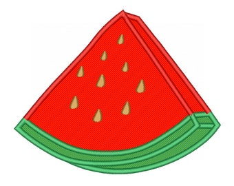 Water Melon Applique Embroidery Designs Machine Embroidery Designs PES 11 Size Applique Designs - INSTANT DOWNLOAD