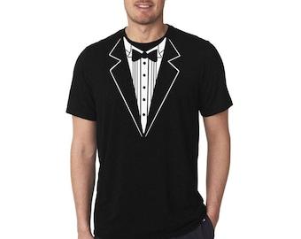 a17b7b77a Tuxedo shirt, Men shirt, Fake tuxedo shirt, Groom shirt, Bachelor party  shirt, Fun Shirt, Gift For Him, Custom Shirt