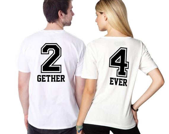 Together Forever Couples shirts Customized gifts Designer  3c734a3be