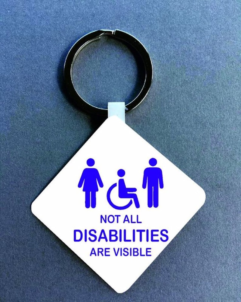 not all disabilities are visible - 794×993
