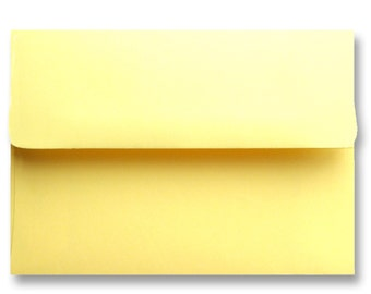yellow 5x7 envelopes etsy