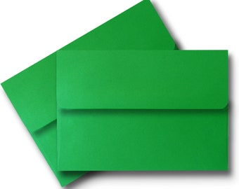 green a7 envelopes etsy