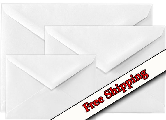 WHITE ENVELOPE ~ #6 ~ You Choose CHRISTMAS GREETING CARD