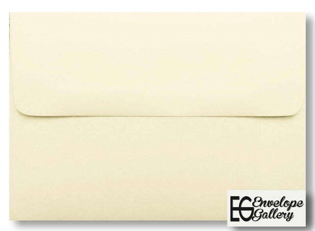 Ivory 25 Boxed Envelopes  for Invitation Announcement Shower Communion Wedding Confirmation Enclosure Card Response Ecru Natural A1 A2 A6 A7