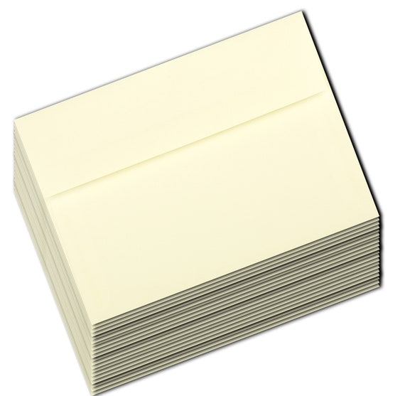 Greeting Cards Response Cards Gift Cards Shower A9 A7 A6  A2 A1 White Envelopes 50 Boxed for Invitations Announcements