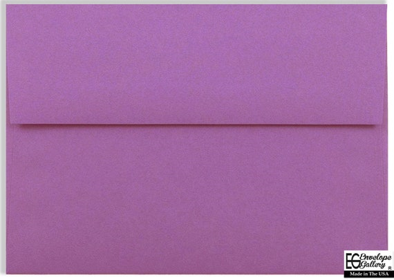 Plum Purple Envelopes for Announcements Invitations Enclosures Showers A2 A6 A7