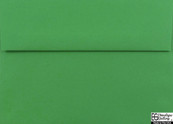 60lb Envelopes for Greeting Card Invitations Announcements Showers Weddings Photo Response Astrobrights A1 A2 A6 A7 Lime Green 25 Boxed