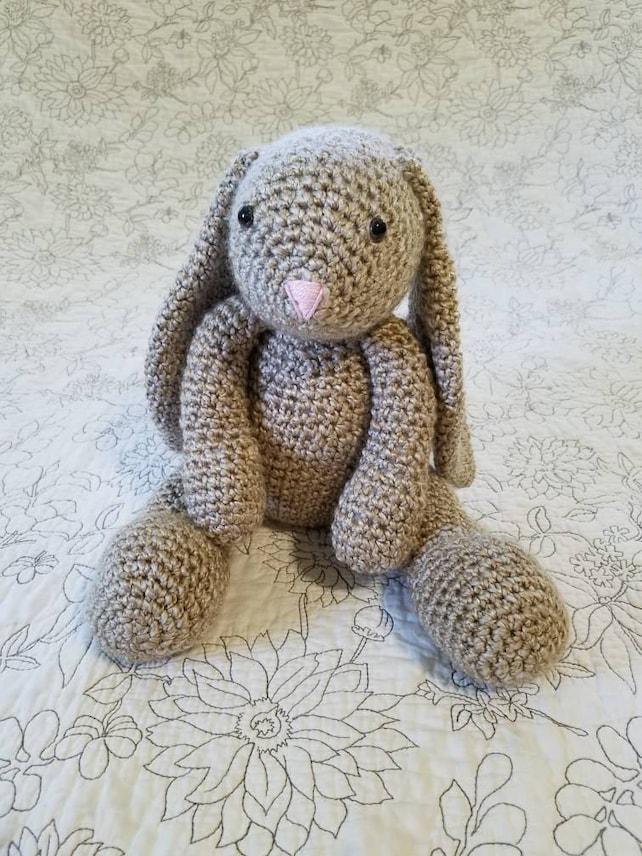 Klassische Bunny Plüsch Plüschhase häkeln Hase Spielzeug   Etsy