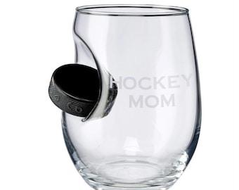 Goal Oriented Hockey Stemless Wine Tumbler