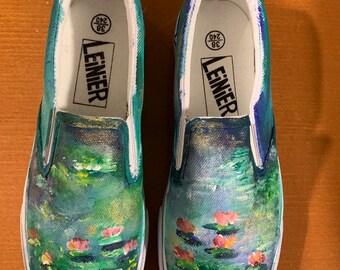 646f1b2cd1da Monet Waterlilies Shoes