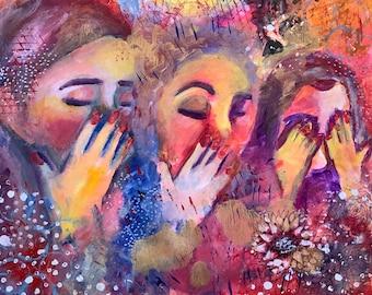 ETSY Shabbos Jewish Acrylic Wall Art