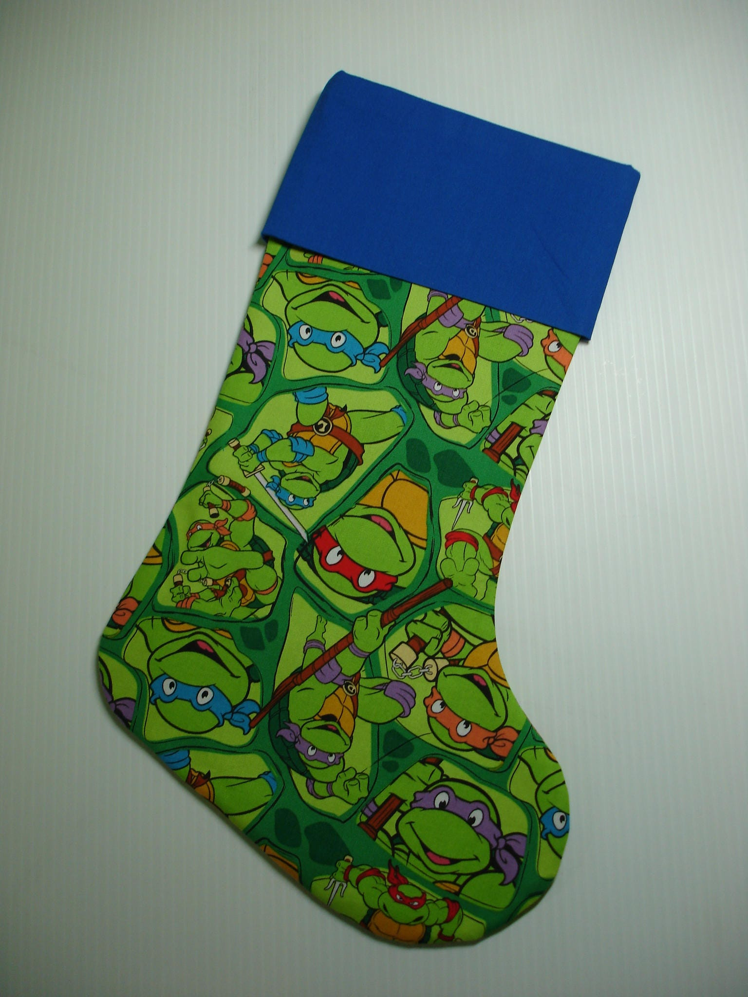 Christmas Stocking Teenage Mutant Ninja Turtles Stocking | Etsy