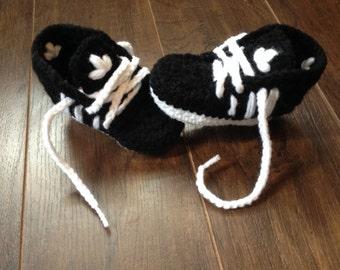 Baby sneakers adidas crochet