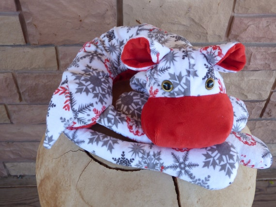 Hippo Pillow, Minky Stole, White Body Pillow, Plush Travle Pillow, Get Well Gift, Christmas Gift, Birthday Gift, Animal Neck Pillow by Etsy