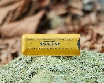Vintage Norton Pocket sharpening stone