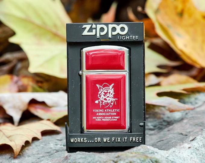 Vintage Zippo Viking Athletic Association Zippo York Pennsylvania