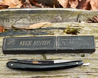 Keen Kutter Straight Razor with original box