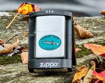Zippo Unfired Randall Knife Society Zippo Rare