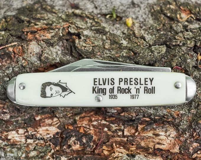 Vintage Elvis pocket knife NOS