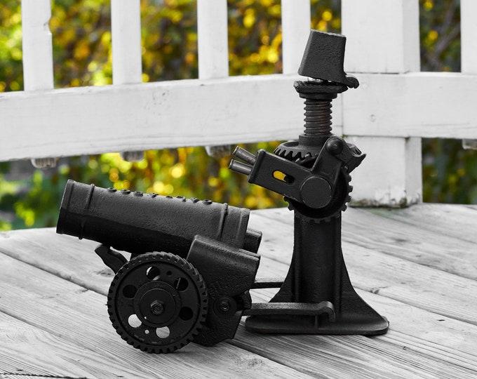 Metal Art Cannon Sgt. Jack militaria art