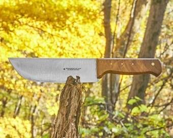 Vintage Butcher knife Frieder.Herder Abr.Sohn Spade Solingen Germany