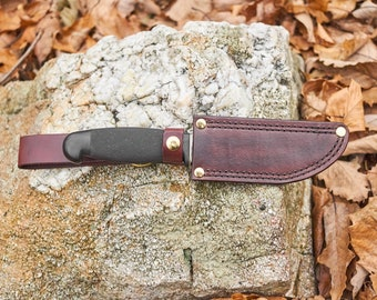 Vintage fixed blade knife