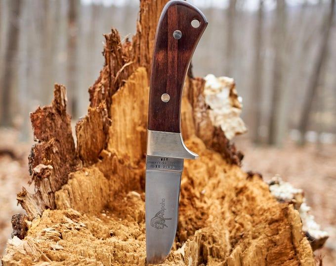Case Arapaho fixed blade knife with original leather sheath