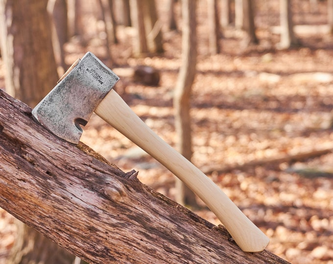 vintage Collins Hatchet - Collins Official Boy Scout Axe with Boy Scouts of America stamp