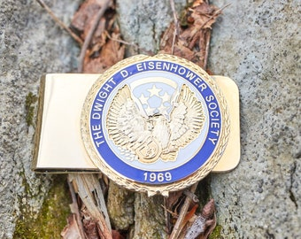 Vintage Money Clip from the Dwight D Eisenhower Society 1969