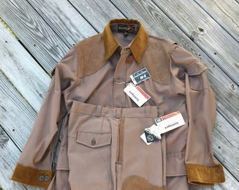 Vintage Hunting Jacket and Pants by 10 x MFG Co with original factory tags never worn