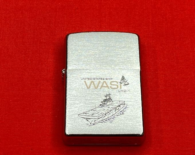 USS WASP LHD 1 Zippo unfired