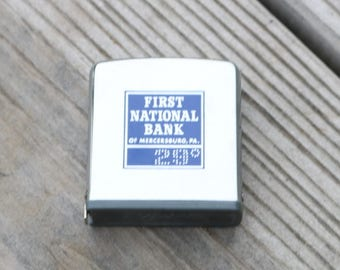 Zippo measuring tape from First National Bank of Mercersburg ,PA