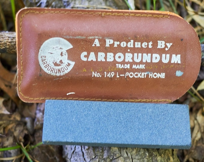 Vintage Carborundum Pocket Hone
