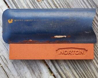 Norton pocket sharpening stone