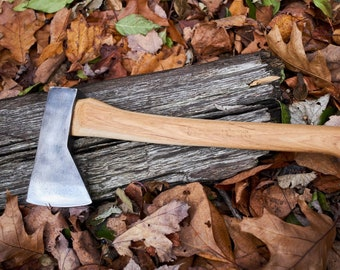 Vintage LL Bean Axe hudson bay axe with axe with Penobscot bay handle