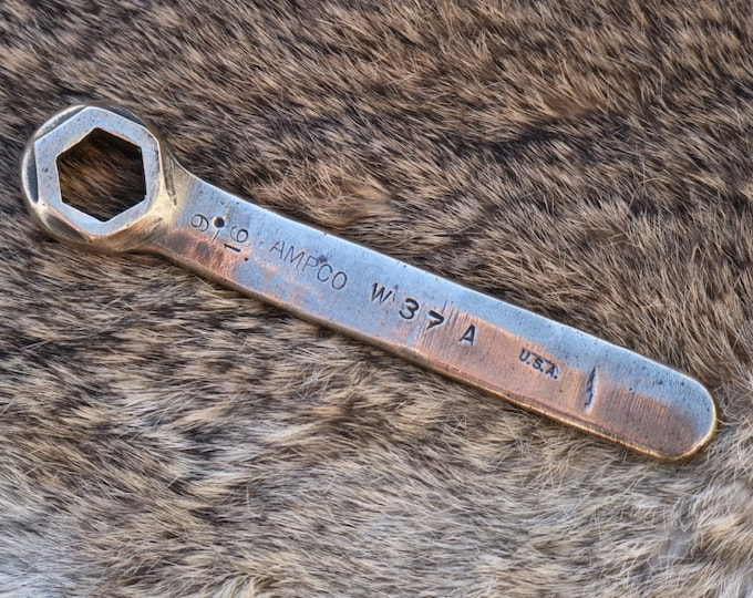 Ampco 9/16 brass box end wrench