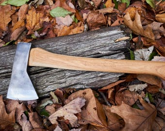 Vintage LL Bean hudson bay axe with axe with Penobscot bay handle