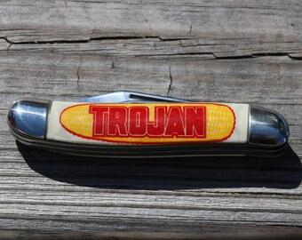Vintage Imperial Pocket Knife - Imperial 2 blade folding knife advertising
