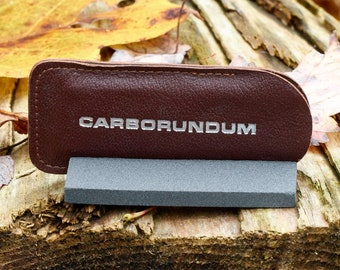 Pocket Sharpening Stone Carborundum pocket hone from Southside Hardware Co Greensboro North Carolina