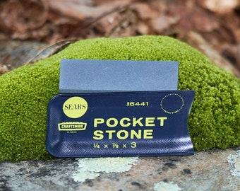 Vintage Craftsman pocket sharpening stone