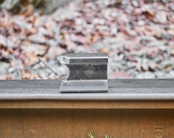 Mini Railroad track anvil jeweler anvil small anvil