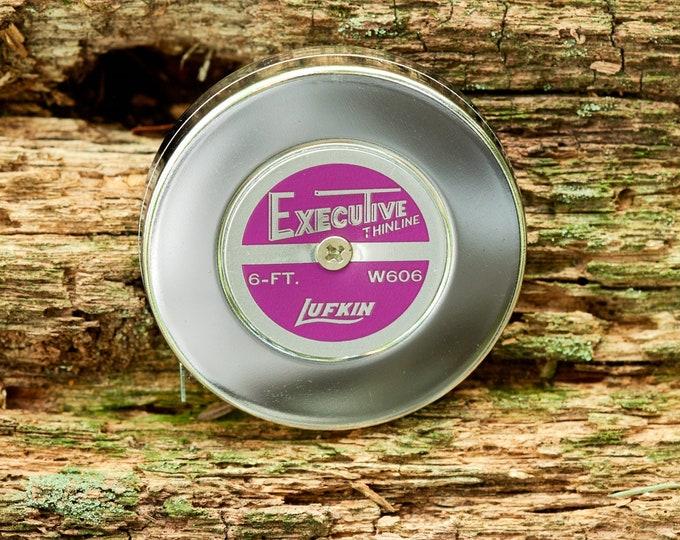 Vintage Lufkin Executive Tape Measure 6 foot