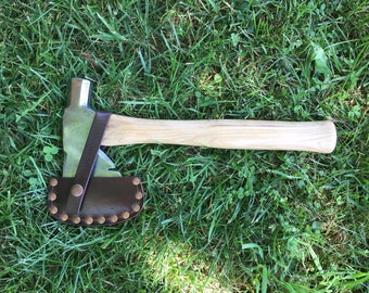 Vintage hatchet with new 13 inch handle of American Hickory axe